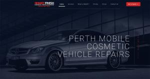 Smart Finish Website