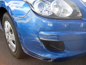 Car Bumper Repairs Perth - Before
