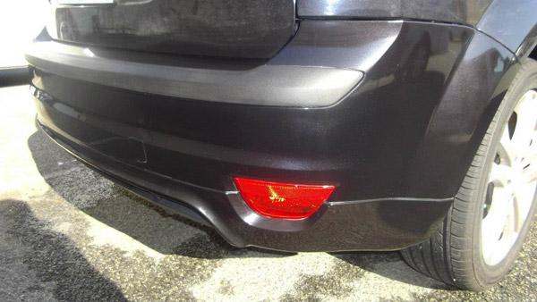 Textured Plastic Bumper Repair - After