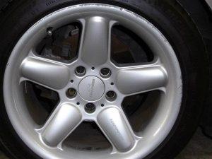 Wheel Repairs Kerb Damage Before