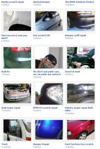 Car Touchup Gallery