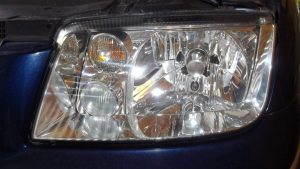 Headlights After Restoration - Perfect!
