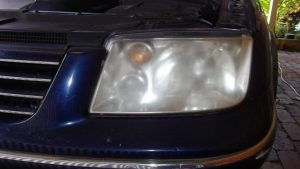 Headlights Before - Cloudy, Opaque and Illegal!