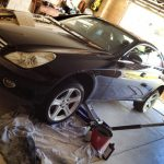 Wheels CLS500 Repaired in Perth garage.