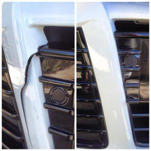 Ford Focus Bumper Crack